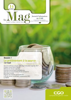 Couverture du MAG CGO n° 14