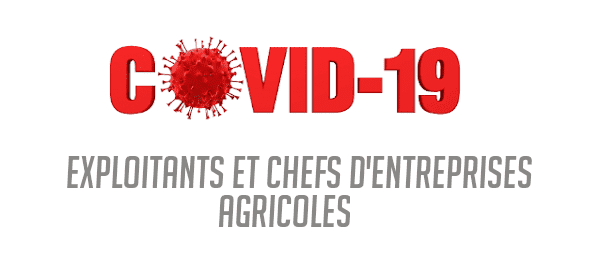 COVID 19 cotisations exploitants agricoles