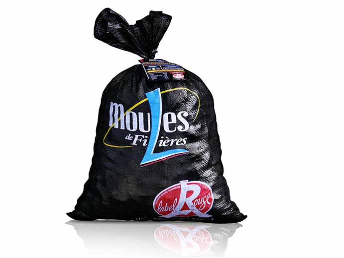 Sac de moules label-rouge 10kg